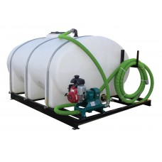 6,056.00 litre Skid Mounted Water Tank