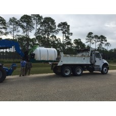 9,841.00 litre Skid Mounted Water Tank